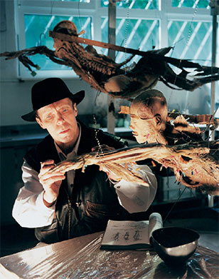 Gunther von Hagens at work