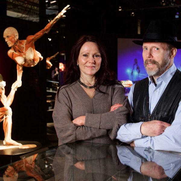 Dr. Angelina Whalley & Dr. Gunther von Hagens