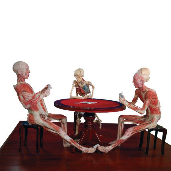 Playing Poker Trio